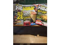 Collection of Course fishing magazines