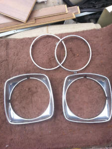 73 buick century headlight bezels