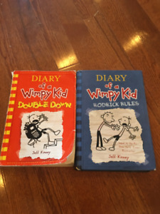 Diary of a Wimpy Kid and Stick Dog Chases a Pizza