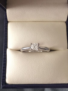 .26 carat Canadian Diamond White Gold Engagement Ring Comox / Courtenay / Cumberland Comox Valley Area image 2