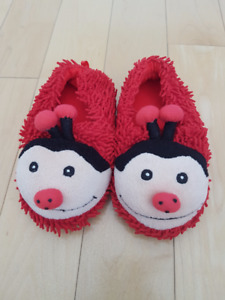 Brand New Lady Bug Slippers - Size 7/8T