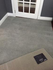 Grey Velour shag area rugs