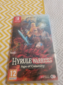 Hyrule warriors age of calamity. New and sealed.