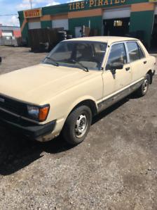 1981 Toyota Tercel Sedan