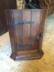 Corner cabinet, solid oak