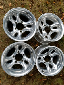 4 American Racing AR136 rims 15x8 5x5.5 bolt pattern Sold PPU