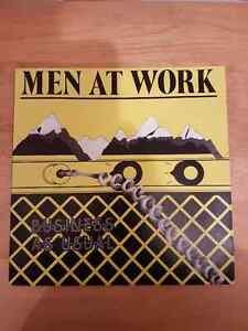 VINTAGE RECORDS. MEN AT WORK.BUSINESS AS USUAL CBS 1982