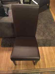 2 Leather chairs-New, never used London Ontario image 1