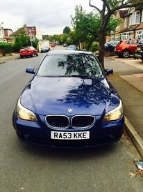 2004 BMW 530 d E60 AUTOMATIC 235bhp, SERVICE HISTORY, VERY FAST, 530d PART EXCHANGE WELCOME