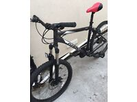 Giant boulder auxx 6000 series butted tubing mountain bike