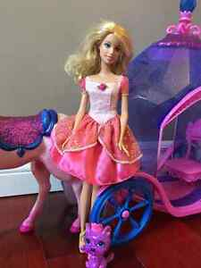 Barbie Diamond Horse and Carriage Kitchener / Waterloo Kitchener Area image 2