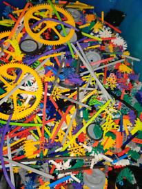 £10 per kilo - assorted k'nex pieces random wheels gears rods