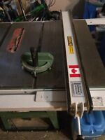 General 2hp table saw with upgraded fence