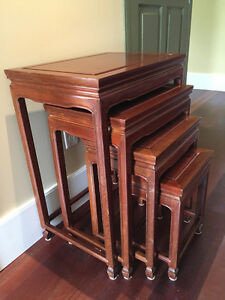 Rosewood Nest of Tables