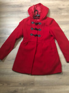 $5 Red trench Coat