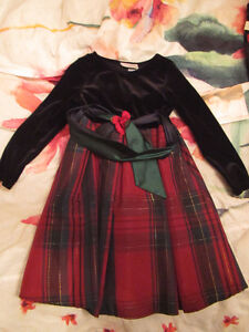 Holiday dress, BNWT, size 6, together with two tights