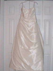 Wedding dress by Alfred Angelo