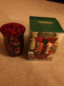 Christmas Candle holder BRAND NEW IN BOX