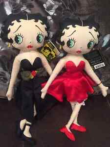 Lot of Betty Boop Collectables Dolls Figurine Windchime