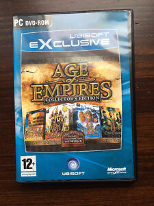 Age of Empires Collectors Addition Limited Edition