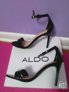 ALDO Cally single strap heeled sandals, size 6.5, only worn once