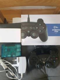 Retropie Arcade Console Raspberry Pi 2B V1.2 with 1 Controller