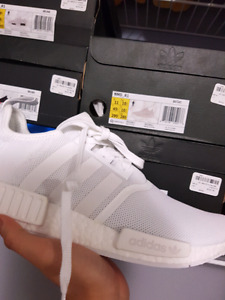 All White NMD deadstock size 11, 10.5