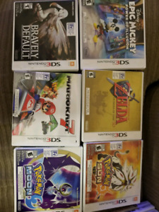 Many 3ds titles