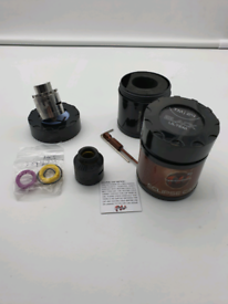 Twisted Messes 24 RDA with eclipse cap great vape 100% Genuine
