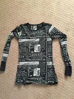 Lululemon Long sleeve run shirt (size 4/6)