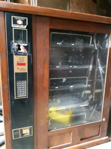 Antique candy machine