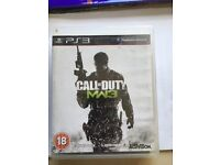 PS3 game call of duty