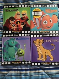 Disney Movie Book Library All New