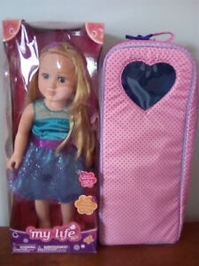 My Life Doll Brand New with Pink Carrying Case