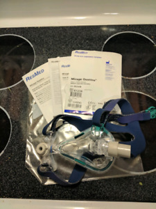 Resmed Mirage Quatro full face CPAP mask