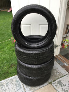 Pneus hiver Michelin bmw 225/50/18. Winter tires