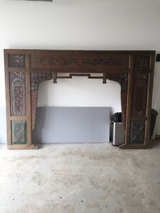 Hand Carved Day Bed Front - Bali