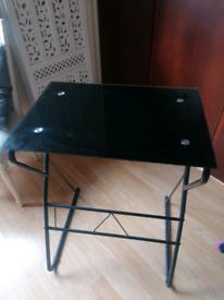 Black desk for office