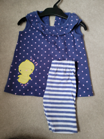 6-9 month spring chick outfit