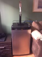 Danby  keg fridge/kegerator plus all accessories