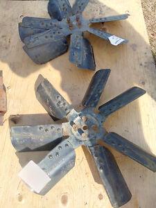7 blade factory GM flex fans in good shape