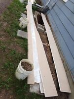 Free siding enough for large shed