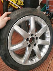 Mercedes spare wheel 1 wheel only