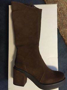 Suede Brown Boot by Rebels
