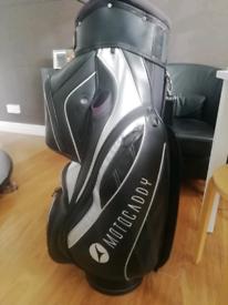 Motocaddy golf bag leather