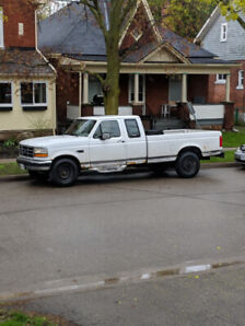 1995 ford f250 5.8 two wheel drive