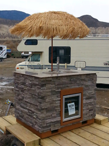 Custom Fabricated Outdoor Bar Entertainment Unit..**SOLD!!**