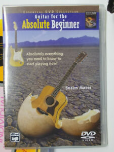 6 GUITAR BOOKS ON HOW TO LEARN GUITAR PLUS A CD