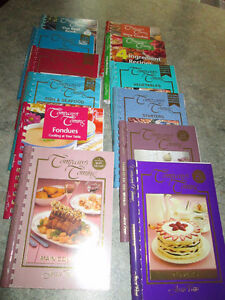 """COMPANY'S COMING"" Recipe Books (12)"