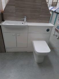 Tavistock Calm Gloss White Deluxe Fitted Bathroom Furniture